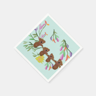 Baby-Koala Papierserviette