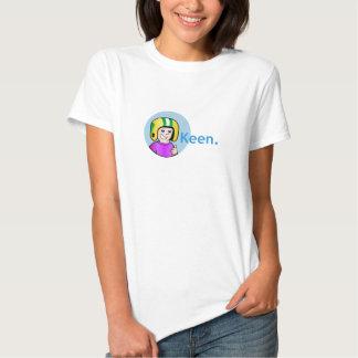 Baby Kommandant-Keen Womens - Puppe T - Shirt