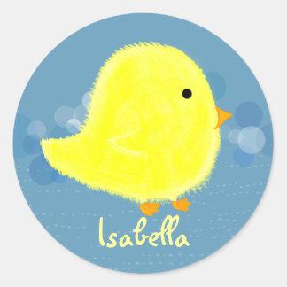 Baby-Küken-Aufkleber Isabella niedlicher