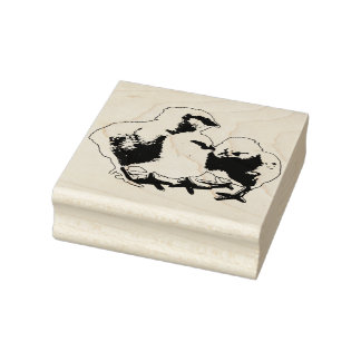 Baby-Küken-Gummi-Briefmarke Gummistempel
