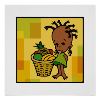 Baby Kwanzaa Plakat