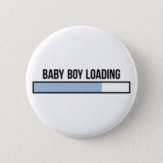 Baby-Laden Runder Button 5,1 Cm