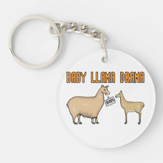 Baby-Lama-Drama Schlüsselanhänger