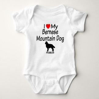 Baby-Lieben Bernese Gebirgshund Baby Strampler
