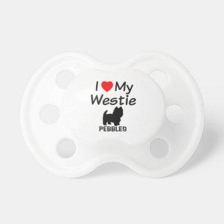 Baby-Lieben Westie HundeSchnuller Schnuller