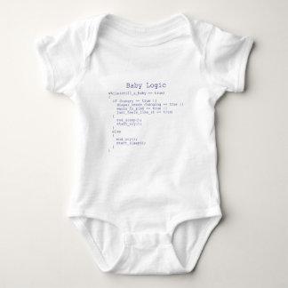 Baby-Logik Baby Strampler