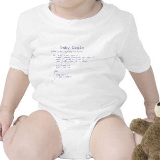 Baby-Logik Strampelanzüge