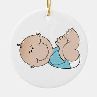 Baby-Lügen Keramik Ornament