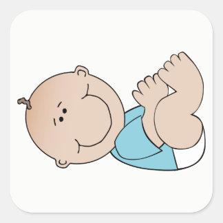 Baby-Lügen Quadratischer Aufkleber