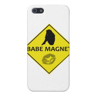 Baby-Magnet-Gelb-Verkehrsschild iPhone Fall iPhone 5 Hüllen