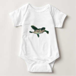 Baby-Meeresschildkröte Baby Strampler