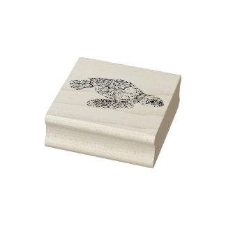 Baby-Meeresschildkröte Gummistempel