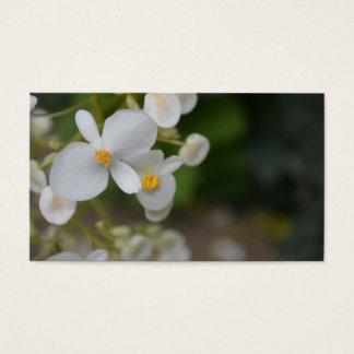 Baby mit Blumen Visitenkarte