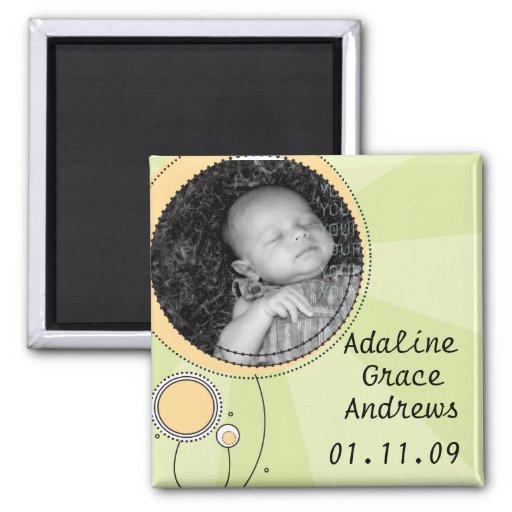 Baby-Mitteilung Magnets