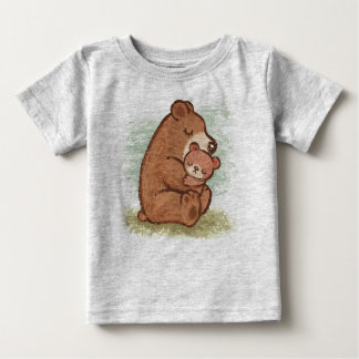 Baby Momma feste Umarmung Baby T-shirt