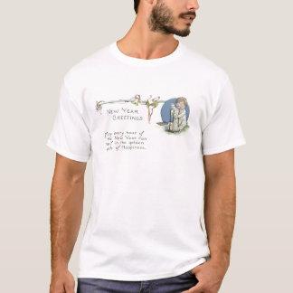 Baby-neues JahrHourglass Bell T-Shirt
