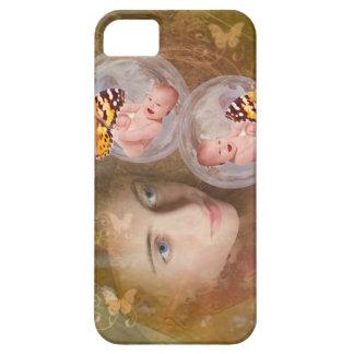 Baby- oder Mädchenzwillinge iPhone 5 Schutzhüllen