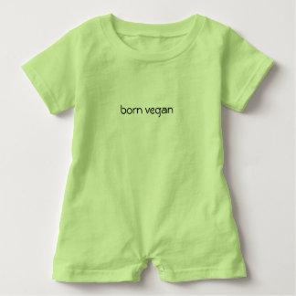 """Baby onsie """"geborenes veganes """" baby strampler"""