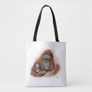 Baby-Orang-Utan Taschen-Tasche Tasche