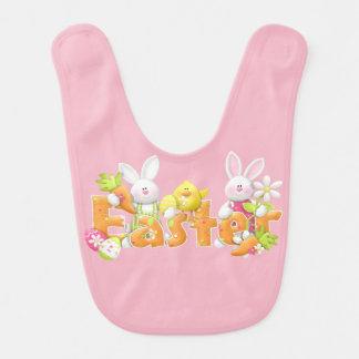 Baby-Ostern-Schellfisch für Jungen oder Mädchen Lätzchen
