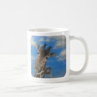 Baby Ostrich und Giraffen-Tasse Kaffeetasse