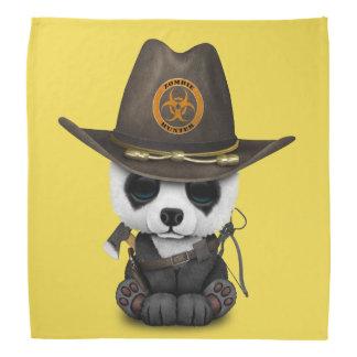 Baby-Panda-Bärn-Zombie-Jäger Kopftuch