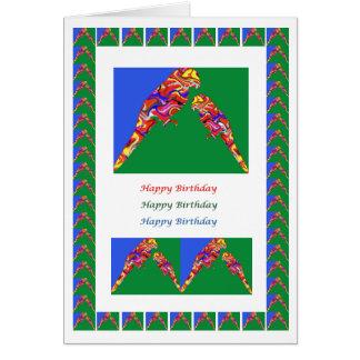 Baby-Papagei HappyBirthday der Mama-n Karte