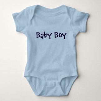 Baby Personalizable blaue Beschriftung Baby Strampler