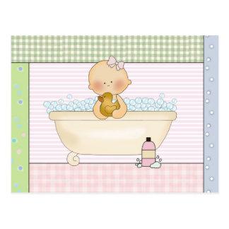 Baby-Postkarte: Süße Baby-Sammlung Postkarte