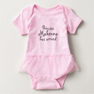 Baby-Prinzessin Has Arrived Tutu Baby Strampler