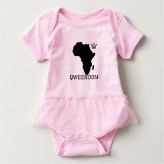 Baby Qweendom Ballettröckchen-Bodysuit Baby Strampler