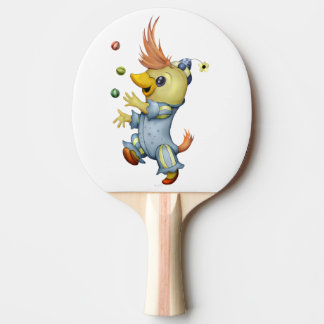 BABY RIUS Klingeln Pong Paddel, ROTE Tischtennis Schläger