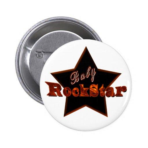 Baby RockStar Buttons