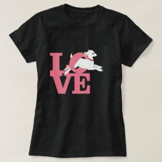 BABY-ROSA des ZIEGEN-LIEBHABER-| dunkle Ziege L O T-Shirt
