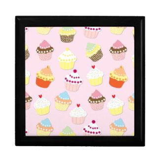 Baby-Rosa-Valentinsgruß-Schalen-Kuchen Schmuckschachtel