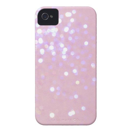 Baby-Rosa-/weißeGlitter iPhone 4 Abdeckung iPhone 4 Etuis