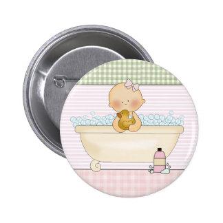 Baby-runde Knöpfe: Süße Baby-Sammlung Runder Button 5,7 Cm