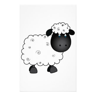 Baby-Schafe für Mutterschaf Briefpapier