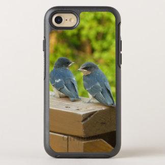 Baby-Scheunen-Schwalben-Natur-Vogel-Fotografie OtterBox Symmetry iPhone 8/7 Hülle