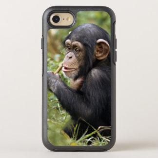 Baby-Schimpanse| Pan Troglodytes OtterBox Symmetry iPhone 8/7 Hülle