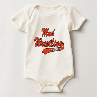Baby-Schlamm-Wrestling-Meister Baby Strampler
