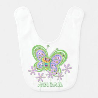 Baby-Schmetterlings-Garten-Gewohnheit Lätzchen
