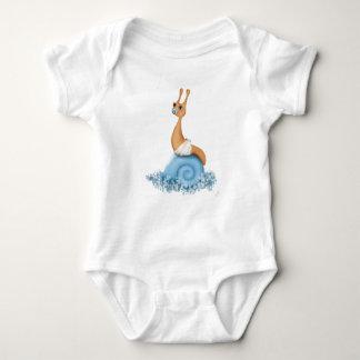 Baby-Schnecke in der Windel Shirts