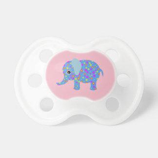 Baby-Schnuller-Elefantrosa Schnuller