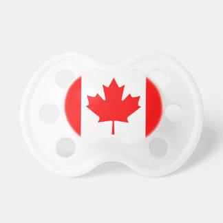 Baby-Schnuller-Kanadier-Flagge Schnuller