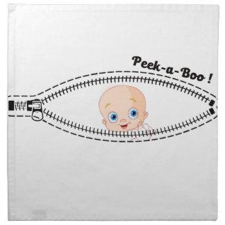 Baby schwangeres Mutter-Geschenkt-shirt Serviette
