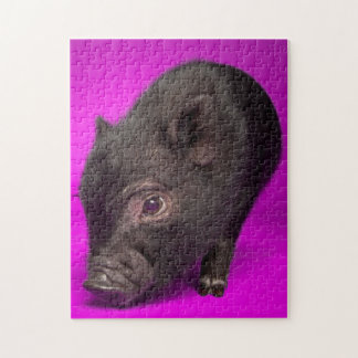Baby-schwarzes Schwein Puzzle