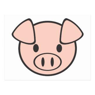 Baby-Schwein Postkarte