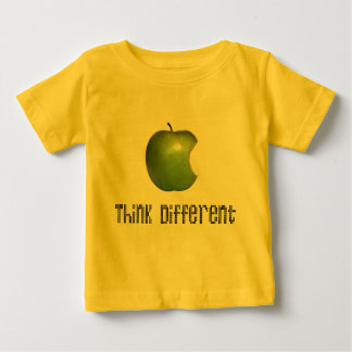 Baby-Shirt Apple Think Different funny and cool Baby T-shirt