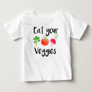 """Baby-Shirt """"essen Sie Ihrer Veggies"""" Baby T-shirt"""